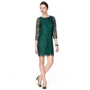 Lace fossil dress